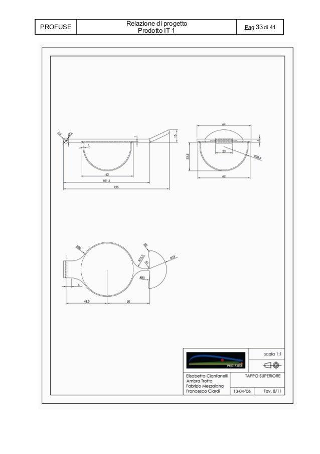 Prototipo PRO F USE : Relazione di progetto