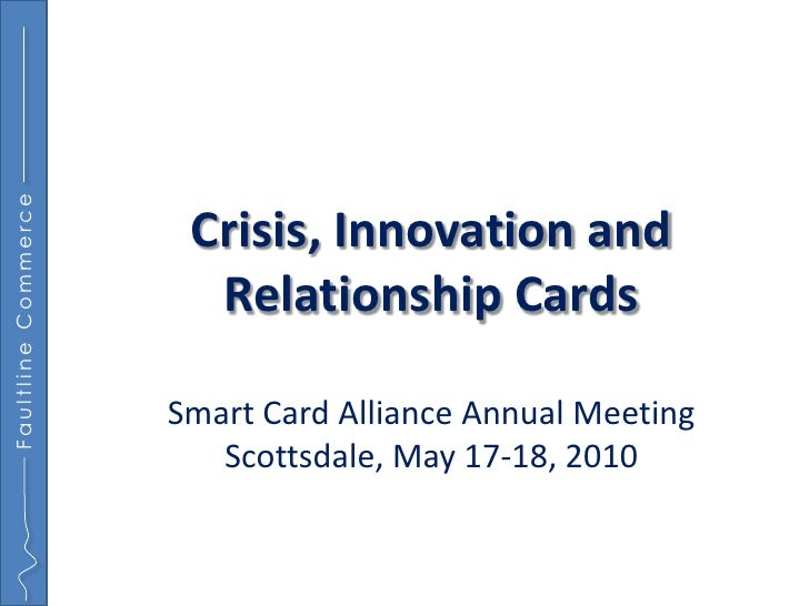 Faultline Commerce                           Crisis, Innovation and                        Relationship Cards             ...