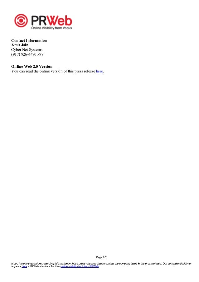 Page 2/2 If you have any questions regarding information in these press releases please contact the company listed in the ...