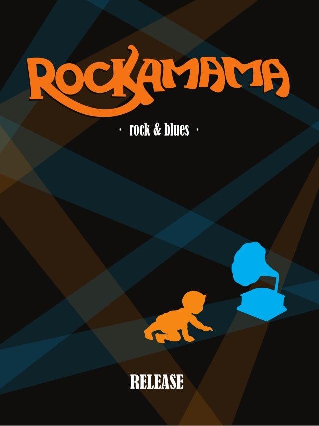 Release de divulgação do 1º cd da rockamama