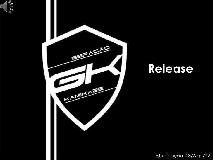 Release Atualização: 08/Ago/12
