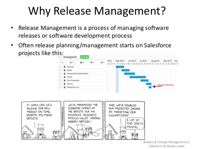 Release & Change management in salesforce