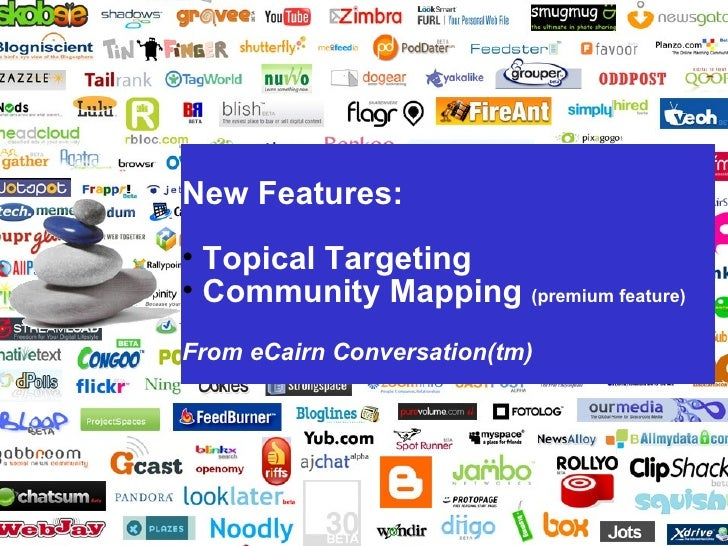 New Features:                           • Topical Targeting                           • Community Mapping (premium feature...