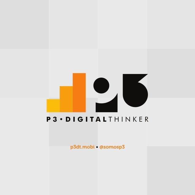 Apresentação P3 Digital Thinker