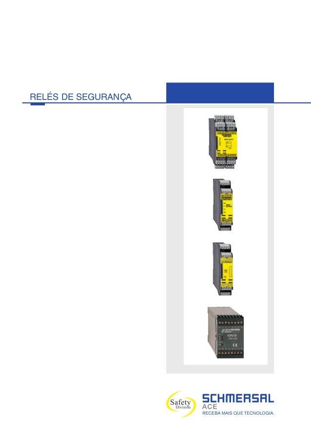 RELÉS DE SEGURANÇA