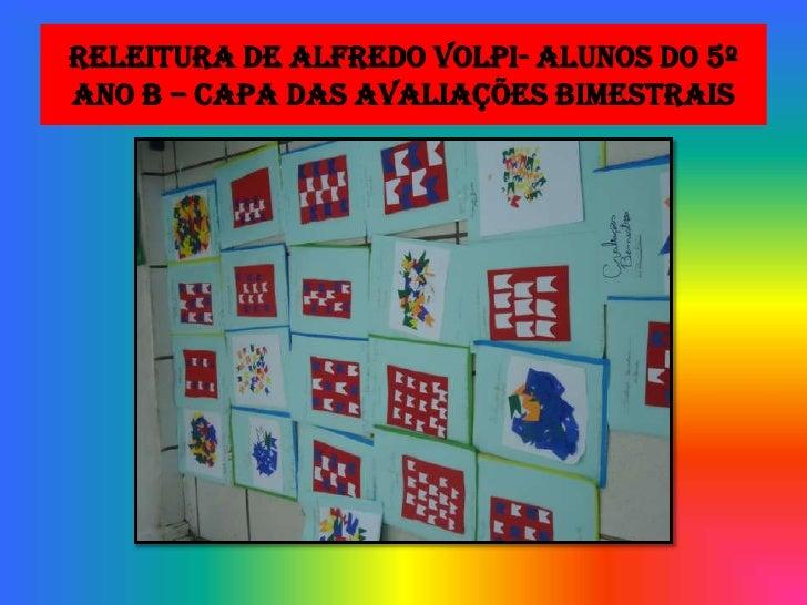 Releitura De Alfredo Volpi 5º B