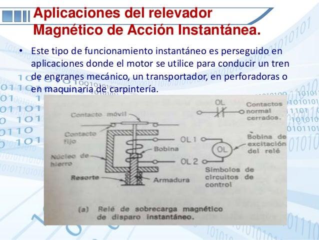 Rele magnetico de sobrecarga
