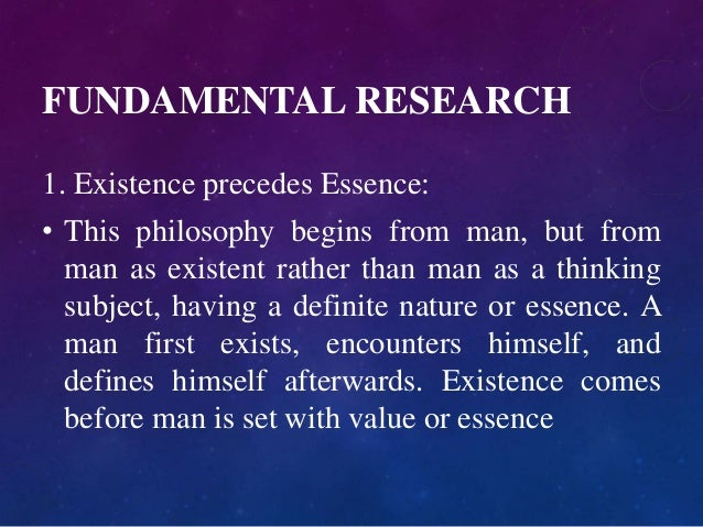 Philosophy of Existentialism Slide 3