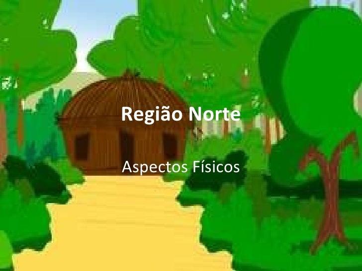 Região Norte Aspectos Físicos