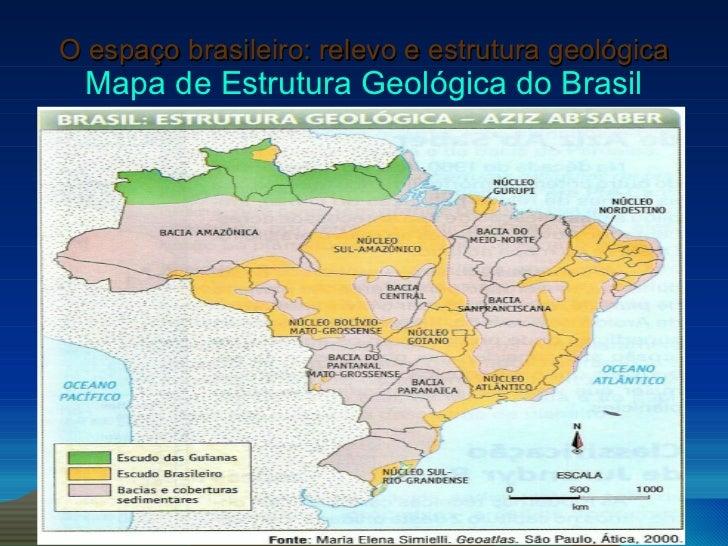 Relevo Estrutura Geologica