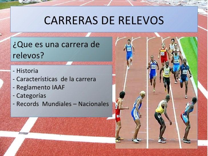 Relevos Atletismo