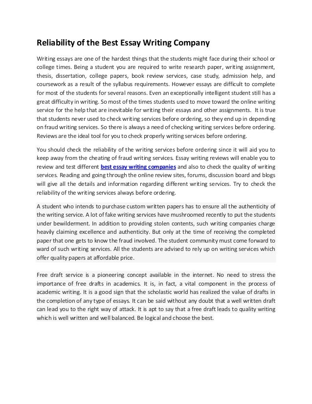 Essays Topics In English Reliability Of The Best Essay Writing Company Writing Essays Are One Of The  Hardest Things That Essay Proposal Template also English Essay On Terrorism Reliability Of The Best Essay Writing Company Abraham Lincoln Essay Paper
