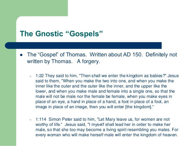 essay gospels Annotations and meditations on the gospels: cumulative index  the title of his  richly illustrated essay in this cumulative index volume is: 'quis non intelliget.