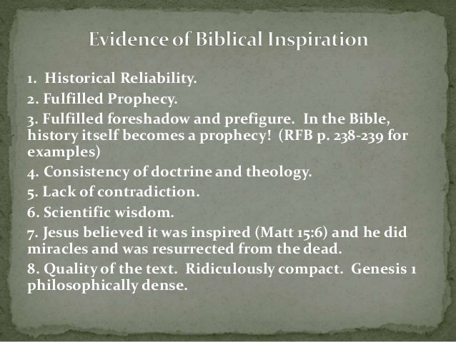 fundamentalism and inerrancy of scripture It is the inerrancy of the bible, especially its truth in historical regards, that is the  fundamentalist position, and not the notion that it must always.