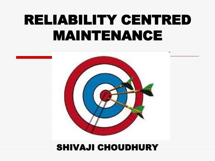 reliability centred maintenance moubray pdf