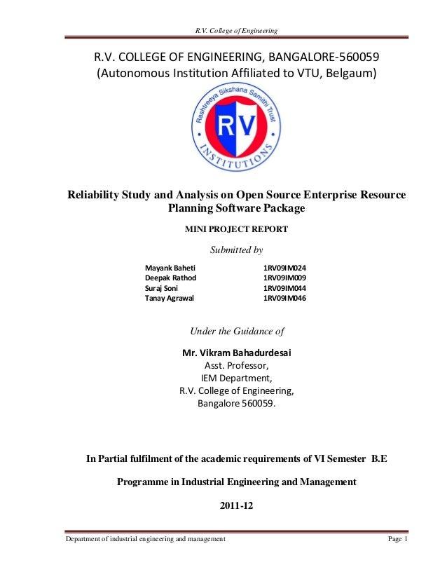 R.V. College of Engineering         R.V. COLLEGE OF ENGINEERING, BANGALORE-560059         (Autonomous Institution Affiliat...