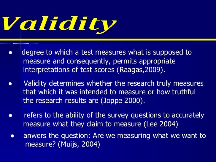 ensuring reliability and validity for essay questions