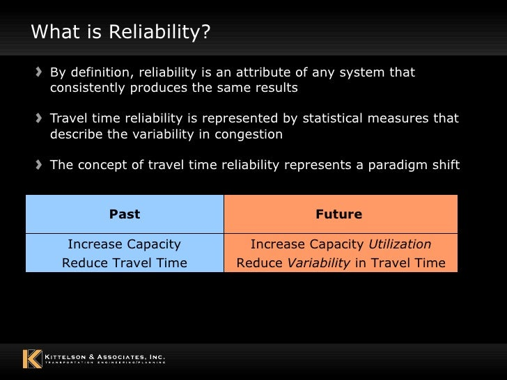 what are the three means of demonstrating measurement reliability Unidimensionality in two and three item measures is difficult to demonstrate  using  authors have defined the reliability of an indicator as the square of the.