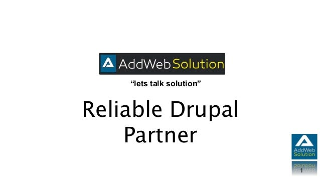 """""""lets talk solution"""" 1 Reliable Drupal Partner"""