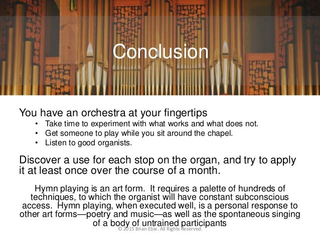 Understanding Pipe Organ Stops and Registrations
