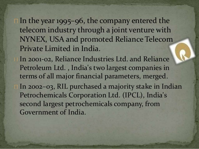 acquisition of ipcl by reliance Before the adjudicating officer securities and exchange board of india  and amalgamation of ipcl with reliance  (substantial acquisition.