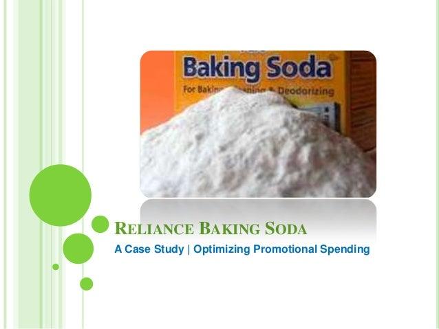 RELIANCE BAKING SODA A Case Study | Optimizing Promotional Spending
