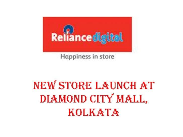 New Store Launch at Diamond City Mall,      Kolkata