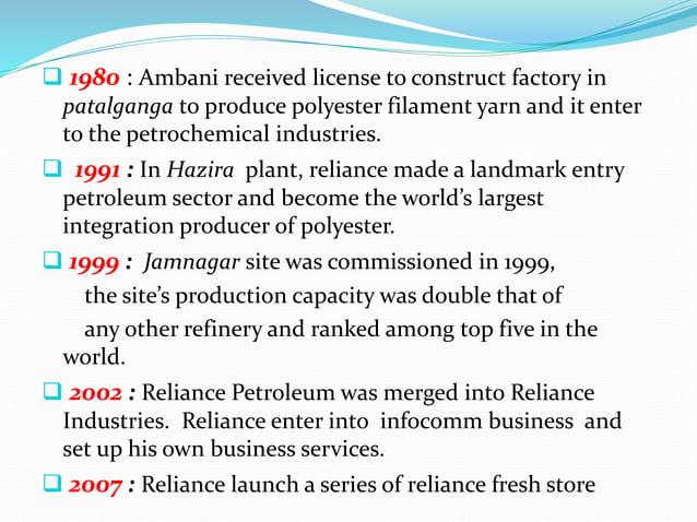 Product of reliance petroleum :  Base oil  Diesel  Fuel oil  Heating oil  Kerosene  Aviation oil  Bitumen  gasolin...