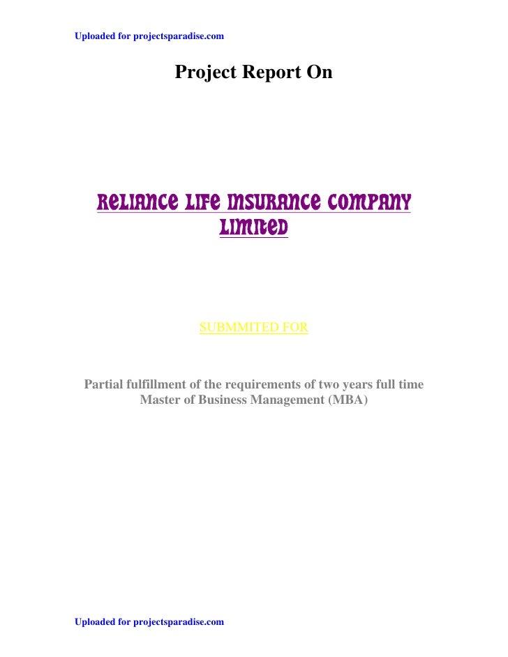 summer internship project report on customer relationship management