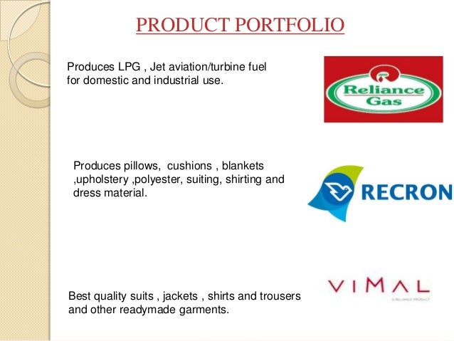 reliance industries limited company profile pdf