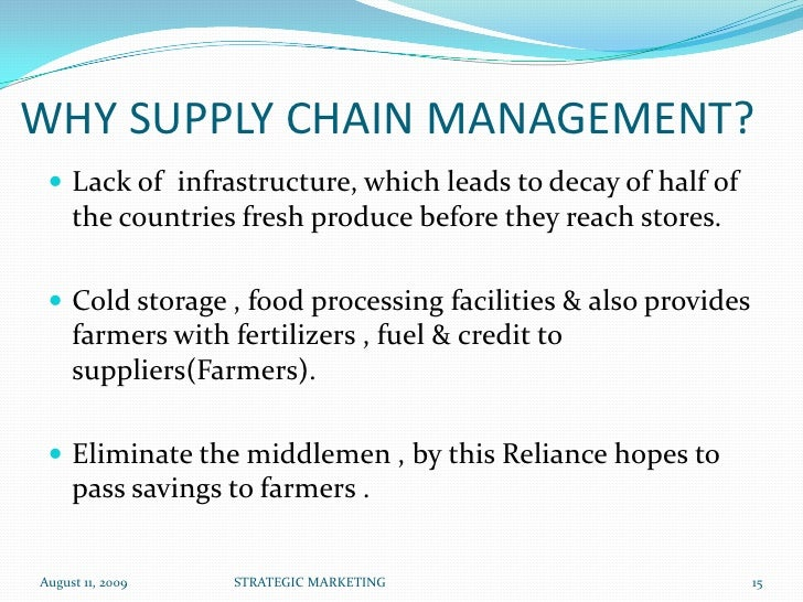 reliance fresh supply chain warehousing Online grocery stores mushroom across india  an efficient supply chain, quality warehousing and  i'll use reliance fresh online stores in future as the.