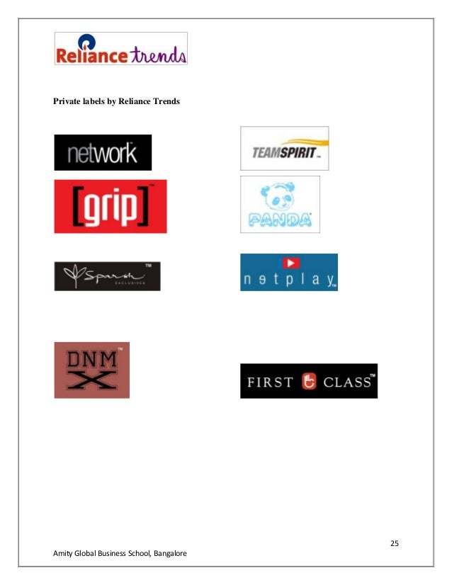 Reliance Clothing Brands