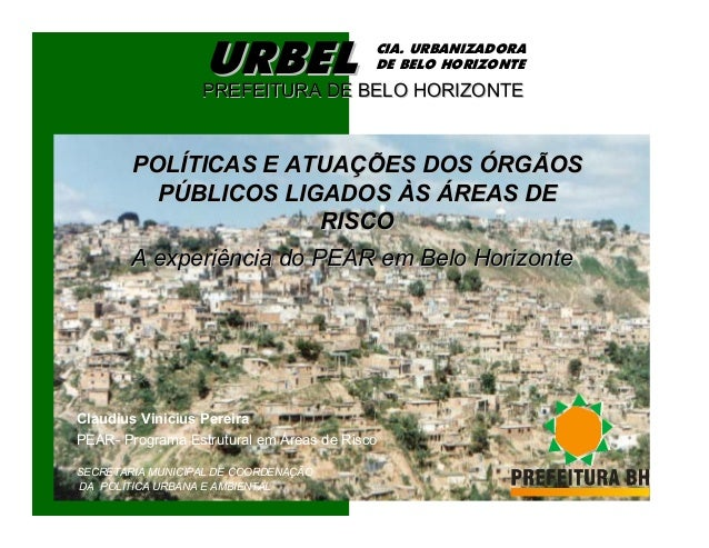 URBEL                   CIA. URBANIZADORA                                          DE BELO HORIZONTE                  PREF...