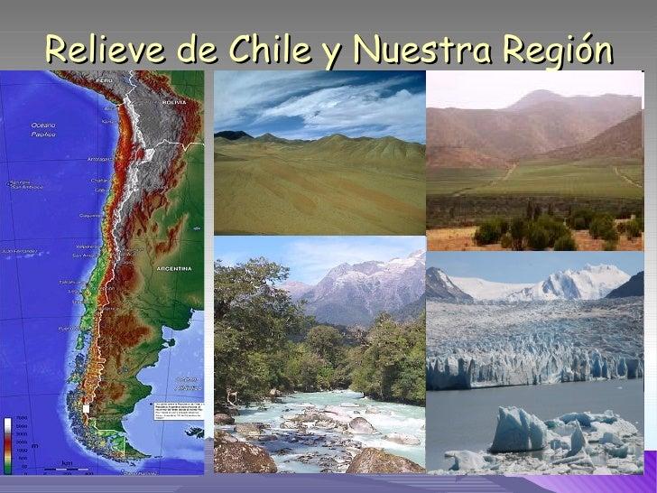 Relieve de Chile y Nuestra Región