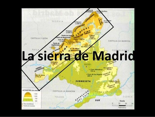 Relieve Comunidad De Madrid