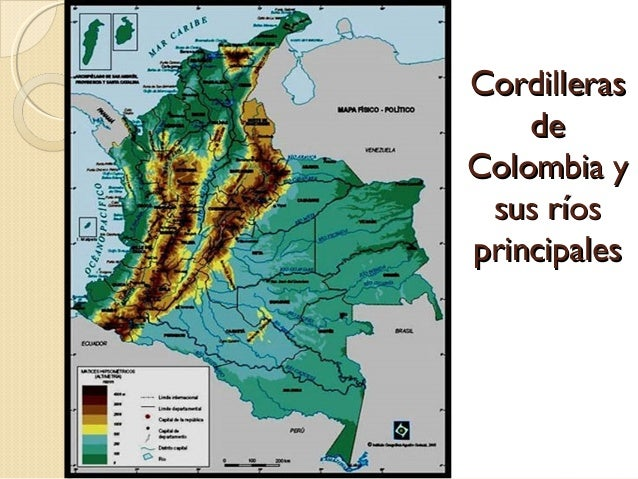 Relieve de Colombia grado 6