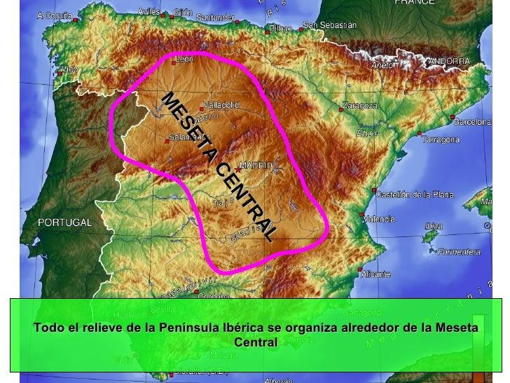 Relieve Físico de España Slide 3