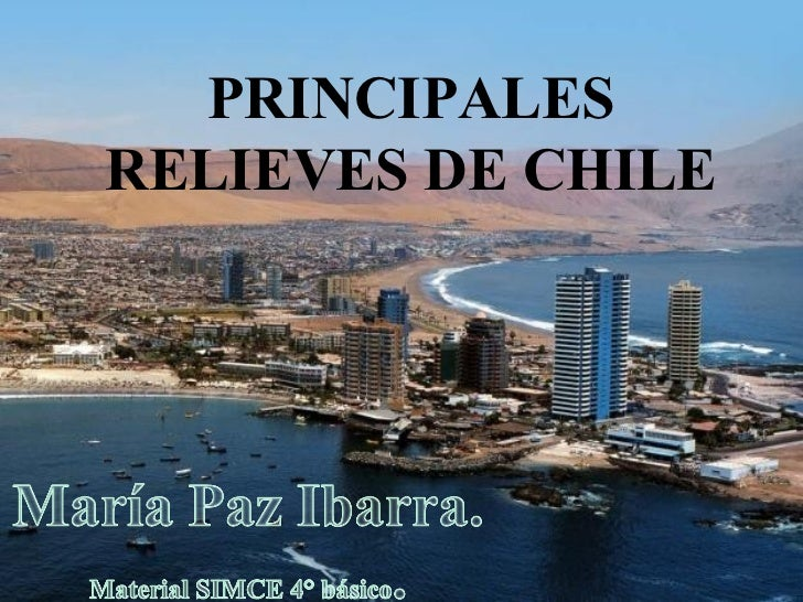 PRINCIPALESRELIEVES DE CHILE