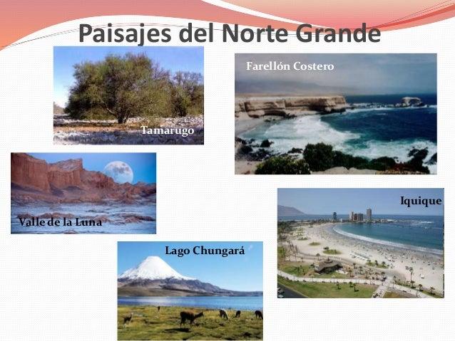 Relieve y paisajes de las zonas naturales - Tipos de paisajes ...