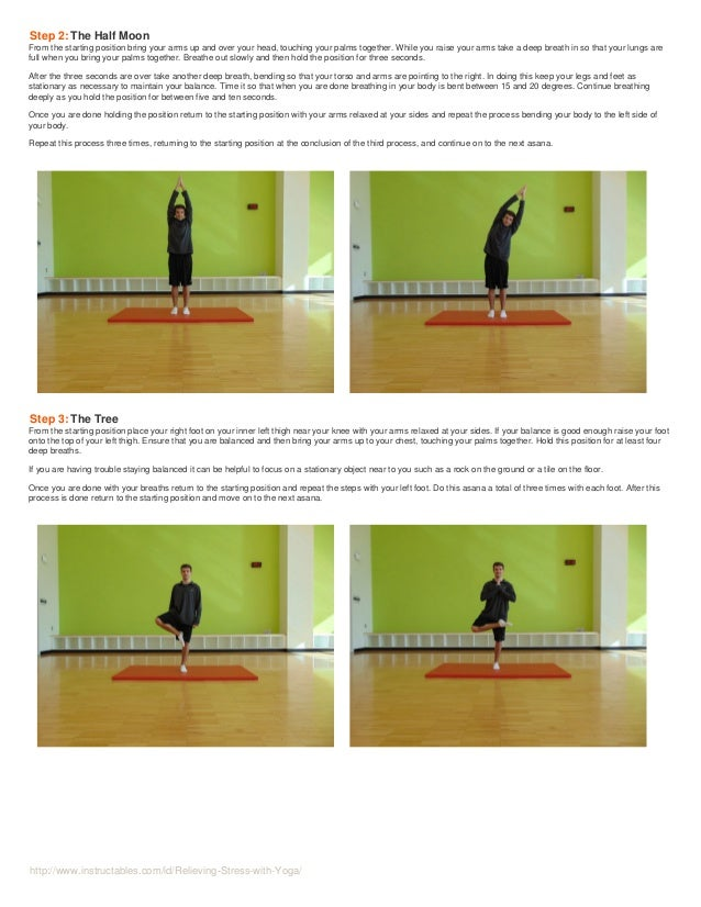 Relieving stress-with-yoga  Slide 3