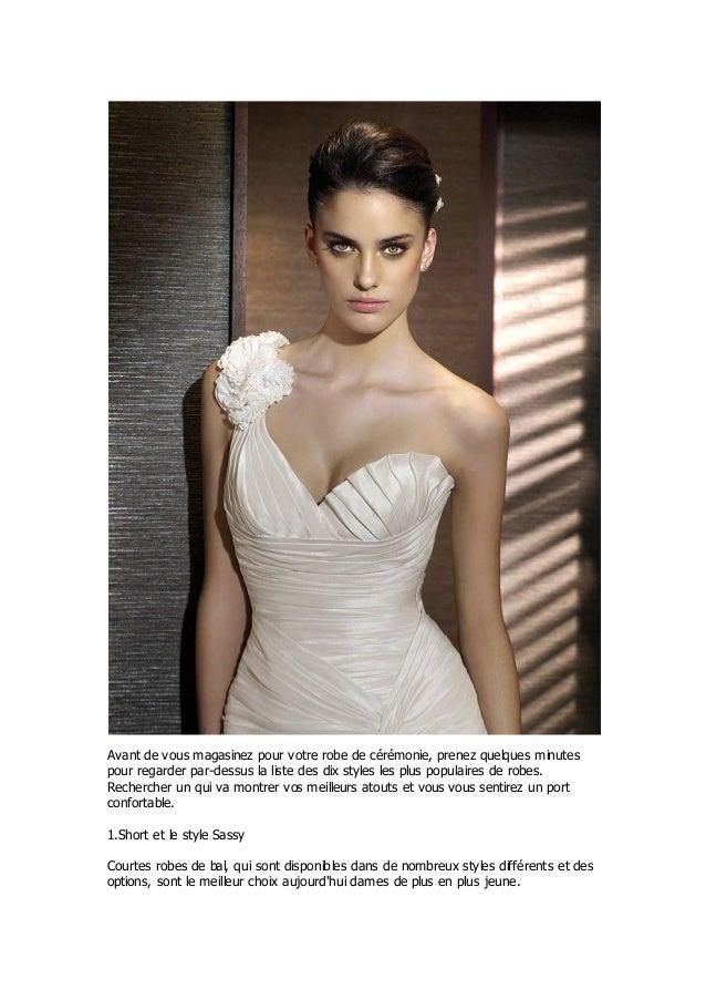 Reliez les points pour le top ten styles robes de mariée plage Slide 2