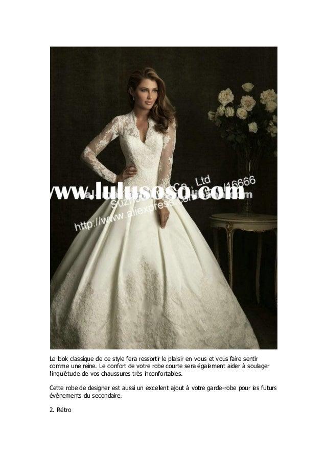 Reliez les points pour le top ten styles robes de mariée plage Slide 3