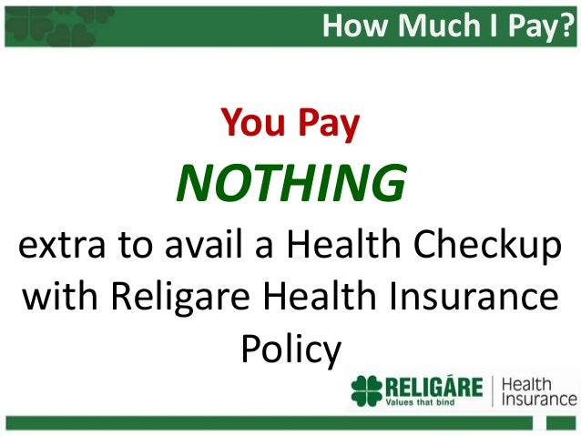 Avail Annual Health Check-ups With Religare Health Insurance