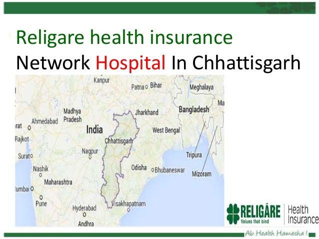 Religare health insurance Network Hospital In Chhattisgarh