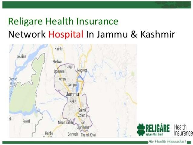 Religare Health Insurance Network Hospital In Jammu & Kashmir