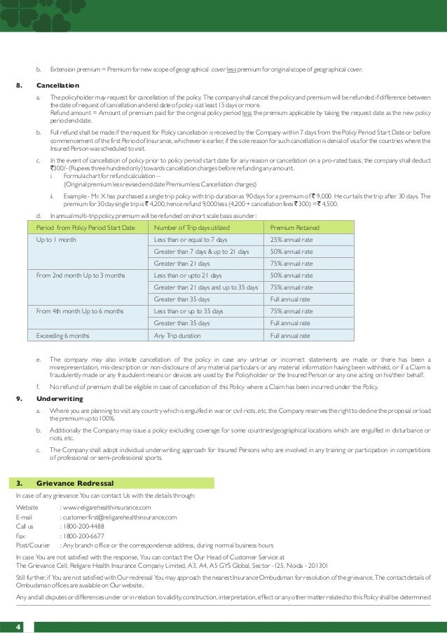 Religare Travel Insurance Claim