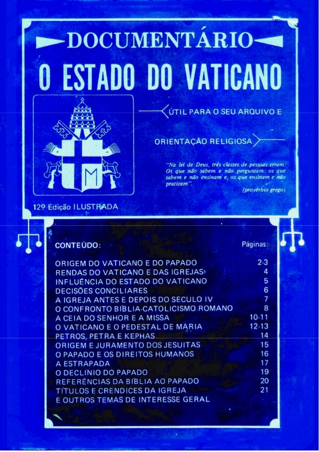 O Estado do Vaticano
