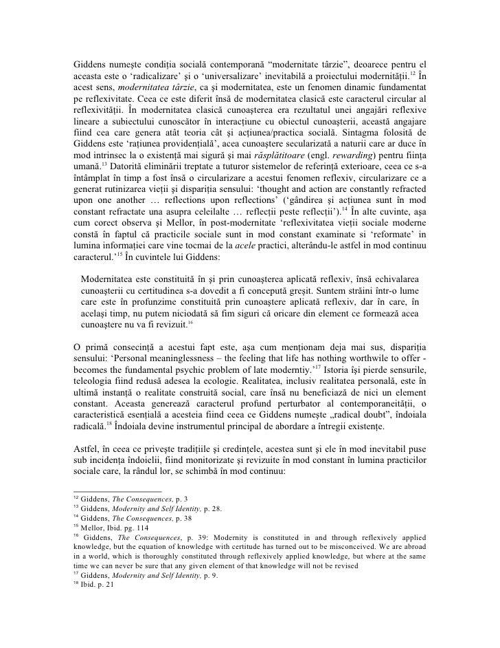 anthony giddens modernity and self-identity pdf