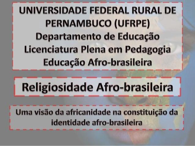 As religiões do Brasil                                                     Católica apostólica romana                     ...