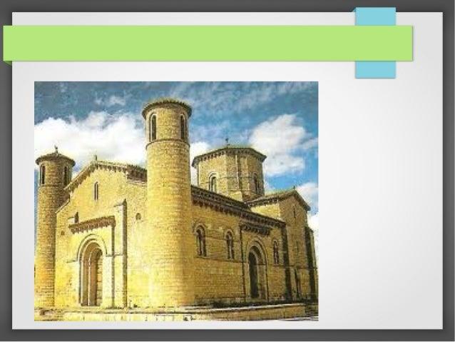 Arquitectura:-Arco de medio punto.-Bóveda, (primero madera, más tarde piedra)-Cortafuentes.-Pilar más ancho.-Planta en for...